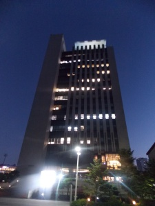 International Education Building. Two of my classes are held in this building on the 14th floor :)